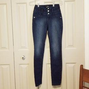 Refuge HI-WAIST SUPER SKINNY jeans
